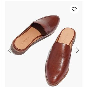Madewell Frances Leather Loafer Mule